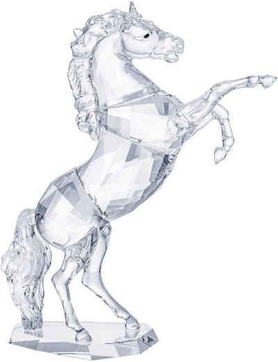 Swarovski Dekofigur »HENGST, 5470628« (1 Stück), Swarovski® Kristall mit schwarzem Emaille
