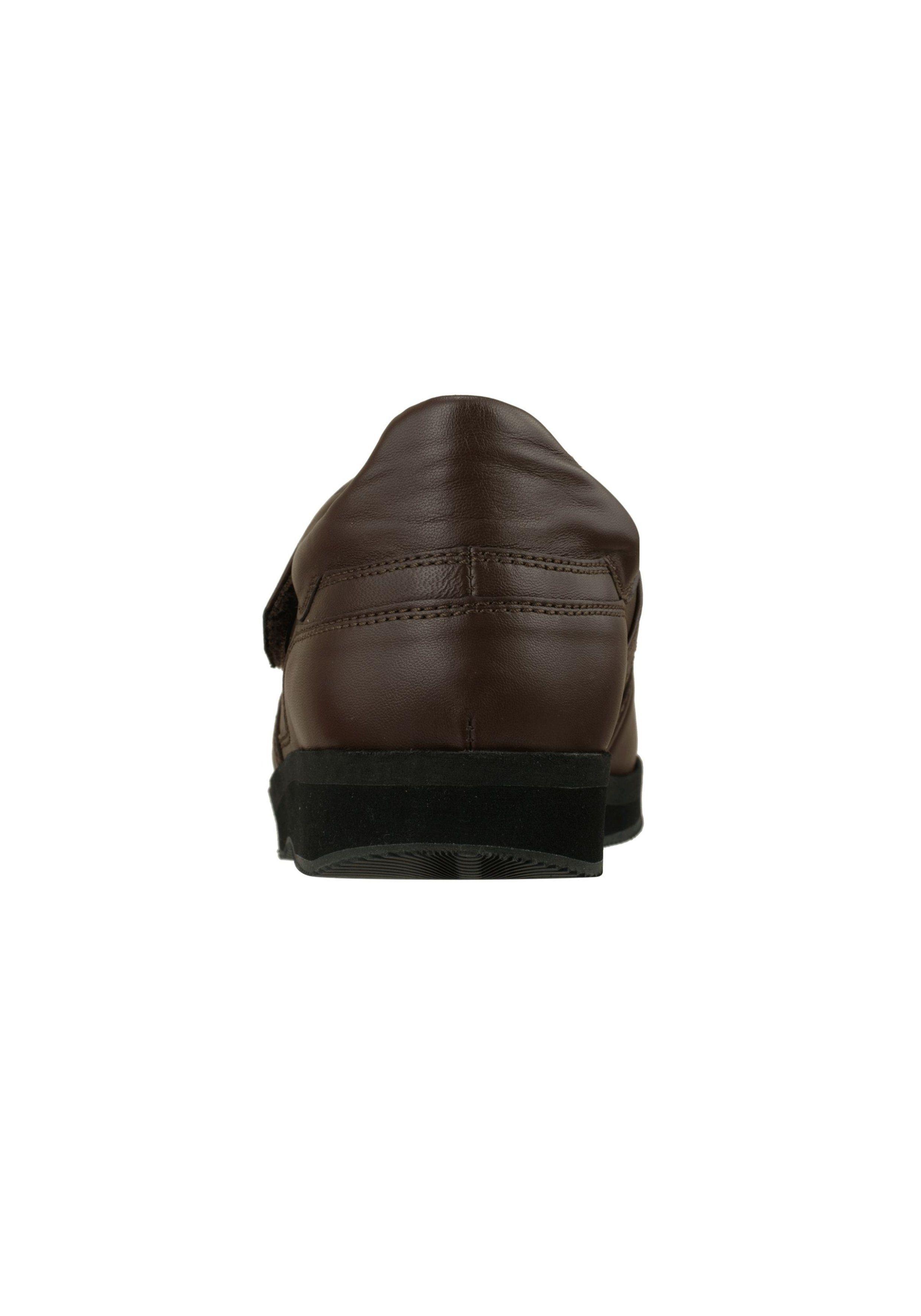 4cm Nr.21 Ledergürtel Rohling,Farbe dunkelbraun gesteppt