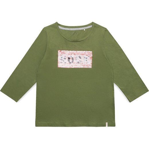 Esprit Langarmshirt mit Wendepailletten für Mädchen