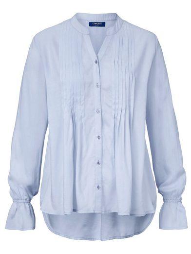 Conleys Blue Bluse mit tollen Rüschendetails