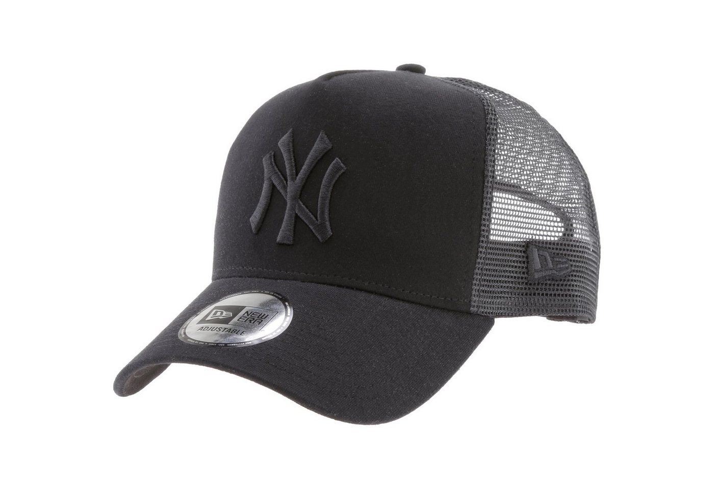 New Era Snapback Cap »A-Frame Trucker New York Yankees« | Accessoires > Caps > Snapback Caps | Schwarz | New Era