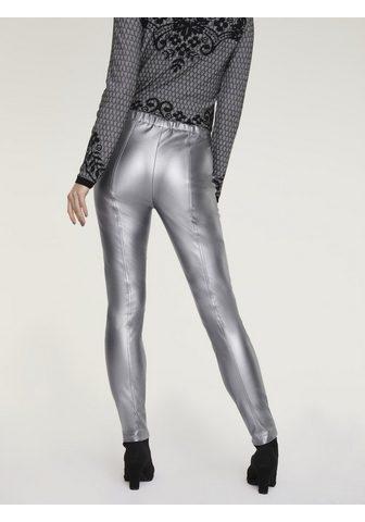 HEINE TIMELESS брюки из искусственной кожы м...