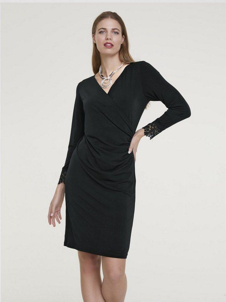 heine TIMELESS Jerseykleid mit Spitze kaufen   OTTO