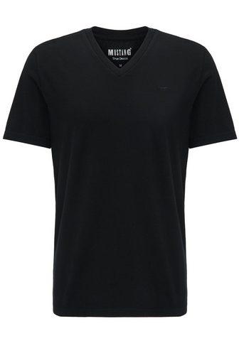 MUSTANG Marškinėliai dvigubas »2-Pack V-Neck«
