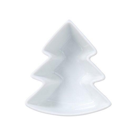 BUTLERS WHITE XMAS »Schale Tannenbaum Länge 10,4 cm«