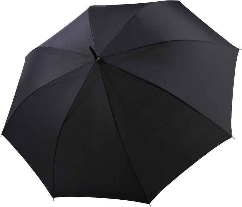 doppler® Stockregenschirm »Fiber Golf Blackstar Automatic uni, black«