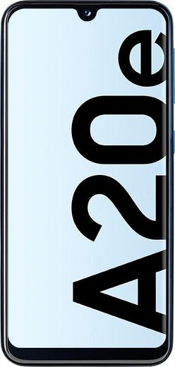 Samsung Galaxy-A20e Smartphone (14,82 cm/5,8 Zoll, 32 GB Speicherplatz, 13 MP Kamera)