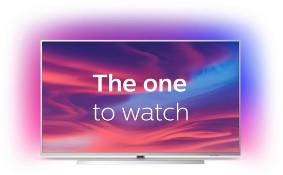 "Philips ""The One"" 50PUS7304/12 LED-Fernseher (126 cm/50 Zoll, 4K Ultra HD, Smart-TV, Ambilight (3-seitig)"