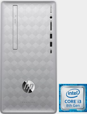 HP HP 590-p0664ng PC (Intel Core i3, UHD Graphics 630, 8 GB RAM, 512 GB SSD)