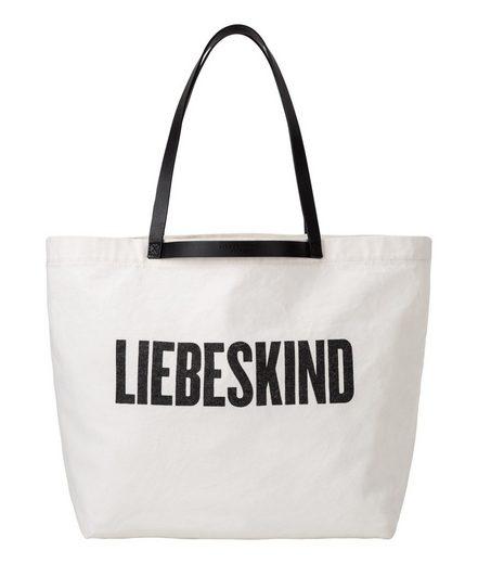 Liebeskind Berlin Shopper »InCaShopM«, mit großem Logo Schriftzug