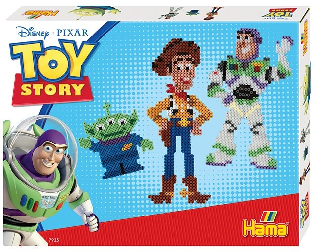 hama perlen hama 7935 gro es midi geschenkset toy story online kaufen otto. Black Bedroom Furniture Sets. Home Design Ideas