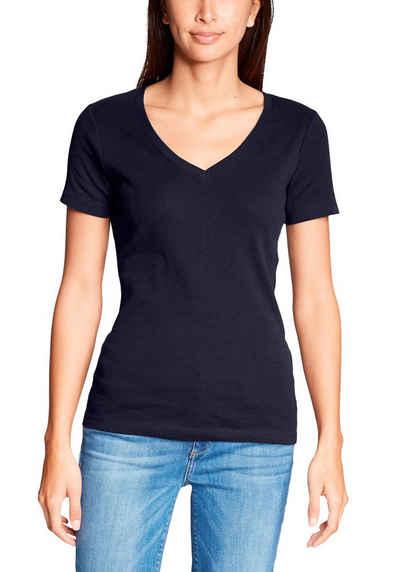ca096f58142c5 Eddie Bauer T-Shirt, Favorite T-Shirt mit V-Ausschnitt