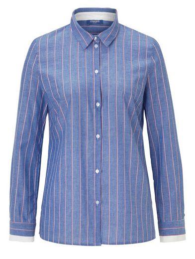 Conleys Blue Bluse Mit mehrfarbigem Streifen
