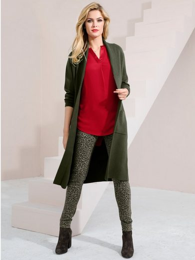 Amy Vermont Strickjacke in offener Form