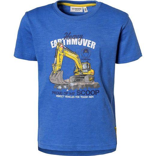 Salt & Pepper T-Shirt für Jungen, Bagger