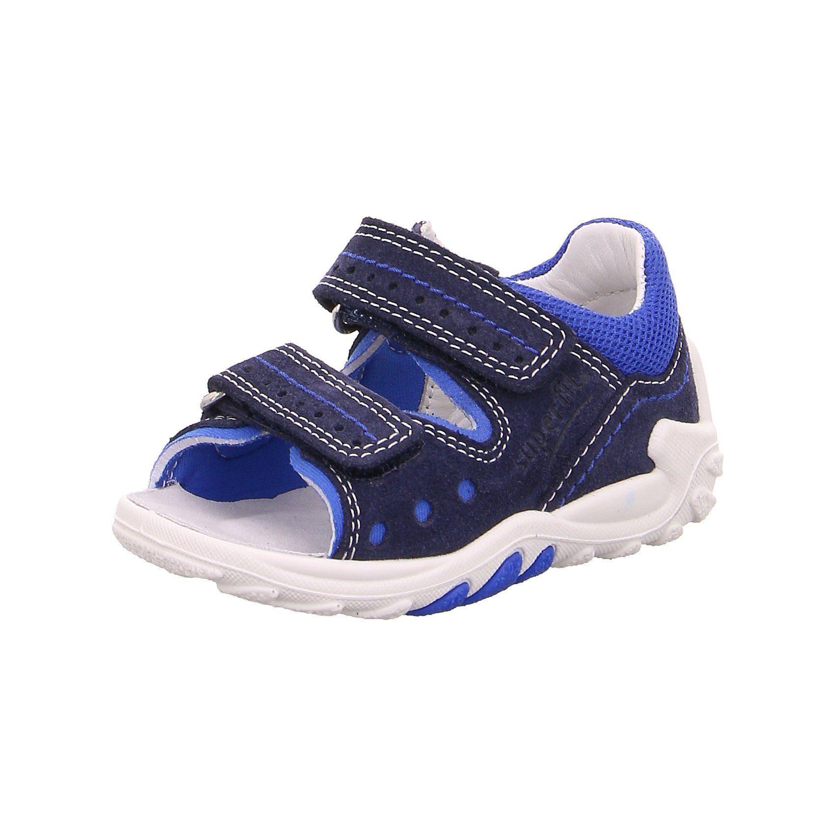 Superfit Baby Sandalen FLOW für Jungen, WMS Weite M4, Obermaterial (Schuhe): Leder, Textil online kaufen | OTTO