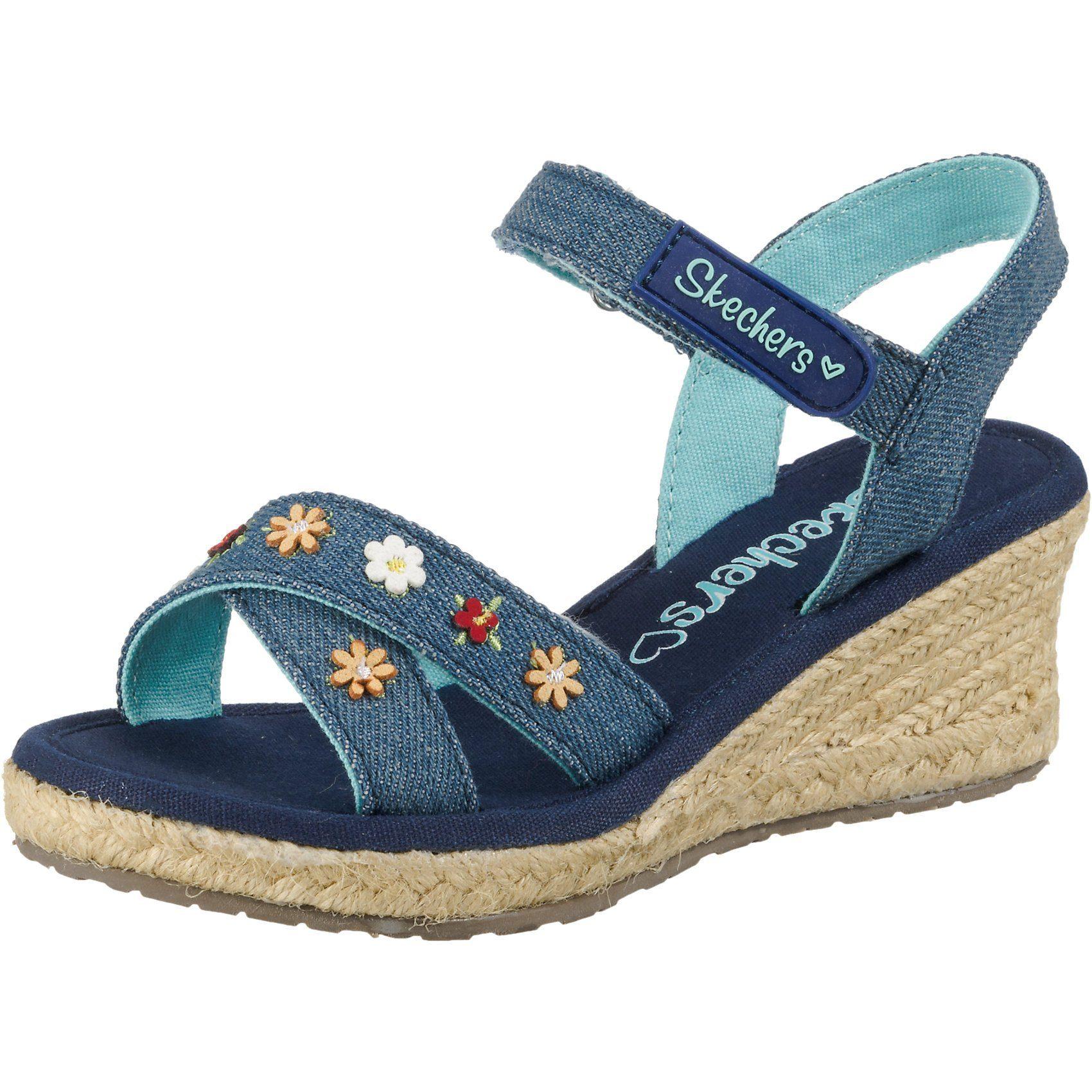 Mega Schnäppchen Keilabsatz Sandalen von Skechers