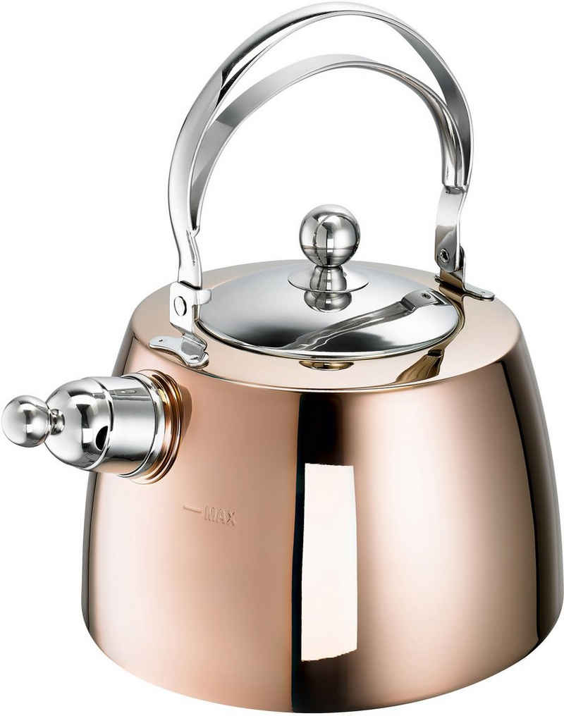 SCHULTE-UFER Wasserkessel »Zora«, Edelstahl, (1-tlg), 2 Liter, Induktion