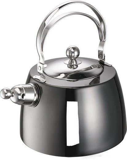 SCHULTE-UFER Wasserkessel »Louis«, Edelstahl 18/10, (1-tlg), 2 Liter, Induktion