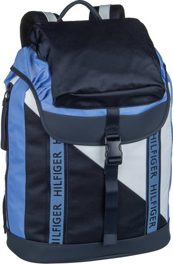 TOMMY HILFIGER Rucksack / Daypack »Color Mix Flap Backpack 4890«