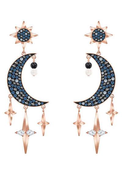 Swarovski Paar Ohrstecker »SYMBOL TALKING PIECE, 5489536«, mit Swarovski® Kristallen und Swarovski® Perlen