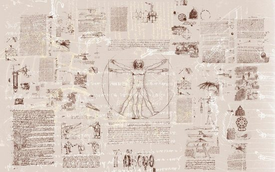 Vliestapete »Da Vinci«, naturalistisch, 400/250 cm