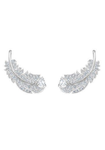 Swarovski Paar Ohrstecker »NICE, 5482912«, mit Swarovski® Kristallen