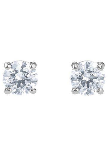 Swarovski Paar Ohrstecker »ATTRACT STUD NEW, 5509937« mit Swarovski® Kristallen