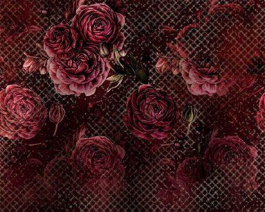 Fototapete »Rouge Intense«, 350/280 cm