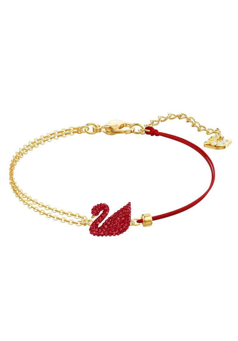 Swarovski Armband »ICONIC SWAN, 5465403«, mit Swarovski® Kristallen