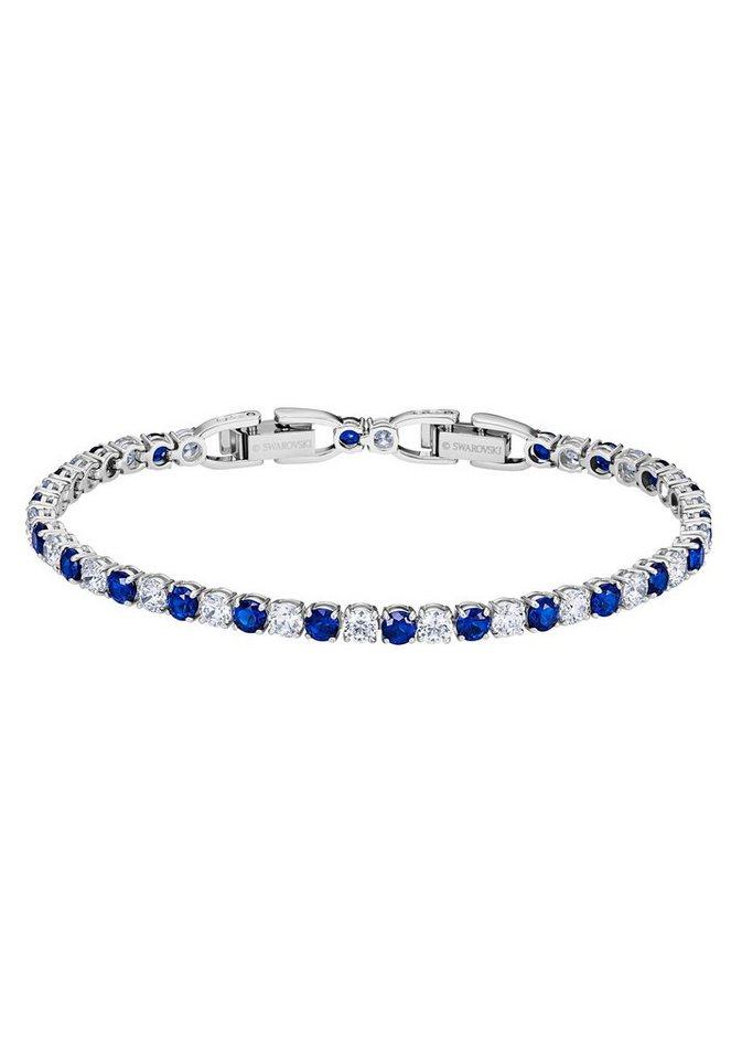Swarovski Tennisarmband »DLX MIX M, 5506253« mit Swarovski® Kristallen | Schmuck > Armbänder > Tennisarmbänder | Blau | Swarovski