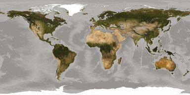 Fototapete »World«, 500/250 cm