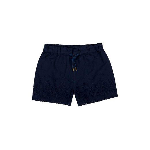 BÓBOLI BARCELONA Shorts mit Kordelzug und Lochstickerei für Mädchen