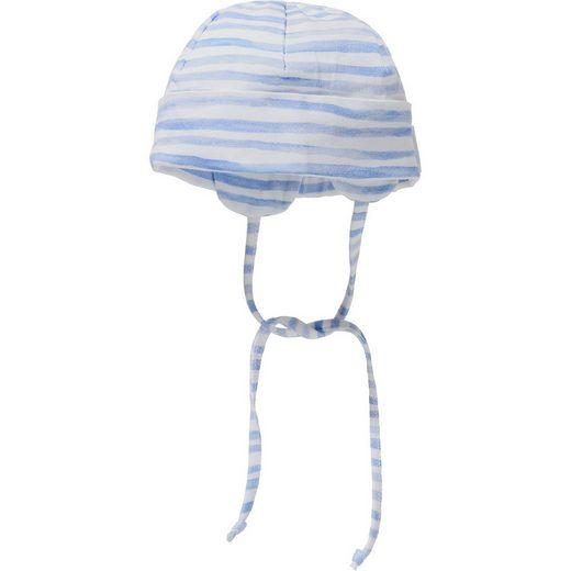 Sterntaler® Baby Mütze mit UV-Schutz 50+ zum Binden für Jungen