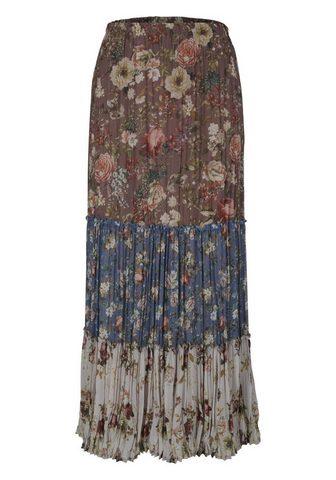 HEINE CASUAL юбка с печатным рисунком в Длин...