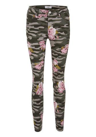 HEINE CASUAL джинсы Aleria с цветочным узоро...