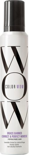 COLOR WOW Haarmousse »Brassed Banned Mousse«, für blondes Haar
