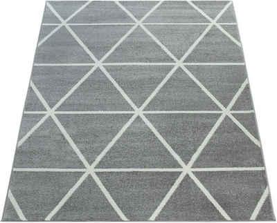 Teppich »Stella 401«, Paco Home, rechteckig, Höhe 12 mm, Kurzflor, intensive Farbbrillianz, Wohnzimmer