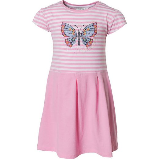 Salt & Pepper Kinder Jerseykleid mit Pailletten, Schmetterling