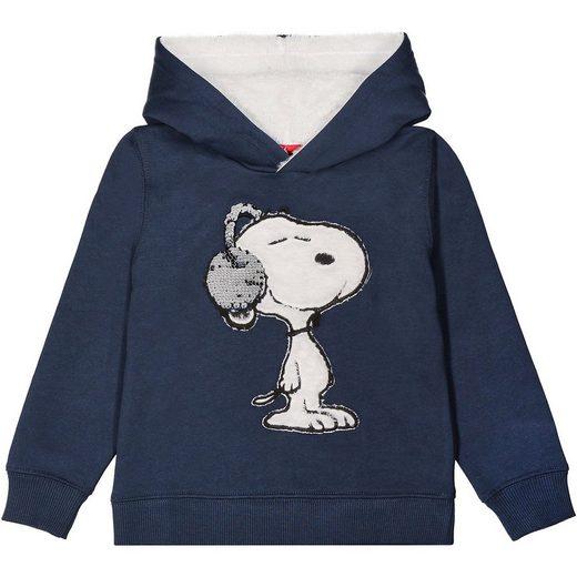 STACCATO SNOOPY & DIE PEANUTS Sweatshirt mit Kapuze für Jungen, Wend