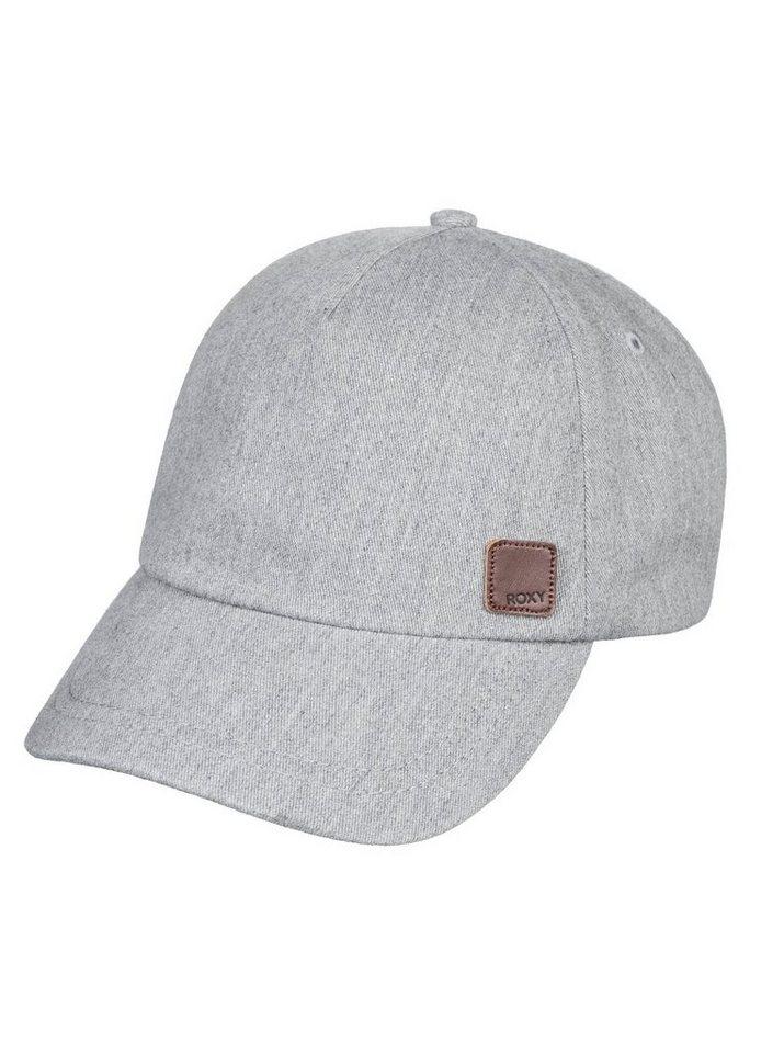 Roxy Baseball Cap »Extra Innings A« | Accessoires > Caps > Baseball Caps | Grau | Twill - Leder | Roxy
