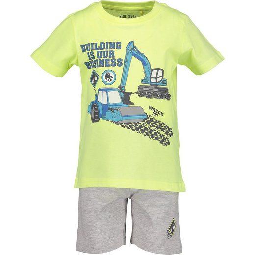 Blue Seven Set T-Shirt+ Sweatshorts für Jungen