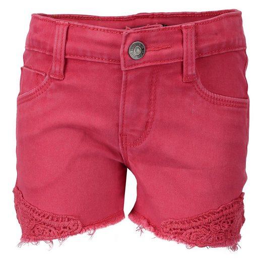 Blue Seven Jeansshorts mit Spitze für Mädchen