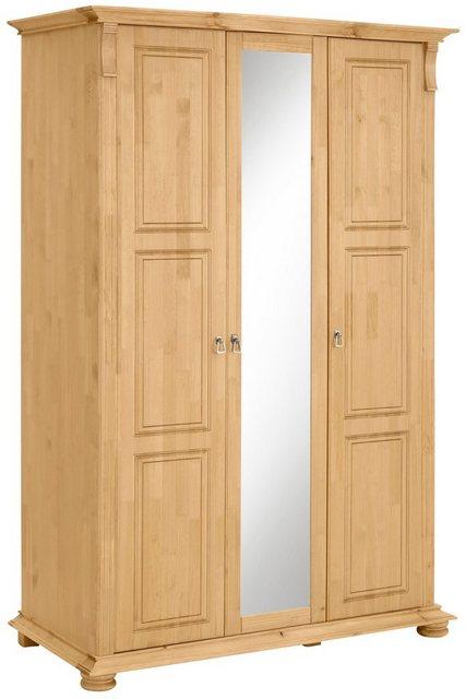 Schlafzimmer Sets - Home affaire Schlafzimmer Set »Mitu« aus massiver Kiefer (3 teilig)  - Onlineshop OTTO