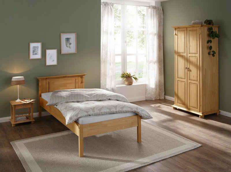 Home affaire Schlafzimmer-Set »Mitu«, (Set, 3-St), aus massiver Kiefer (3-teilig)