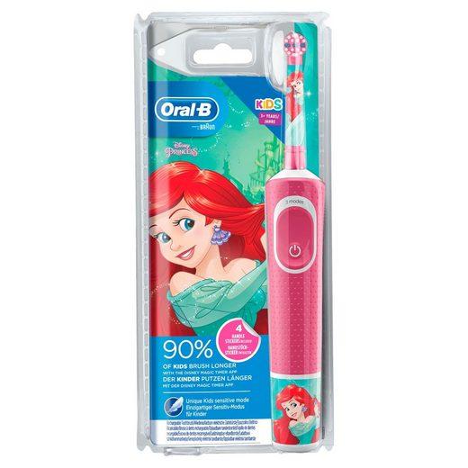 Oral B Elektrische Kinderzahnbürste Disney Princess, Aufsteckbürsten: 1 St.