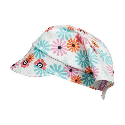 Döll Kopftuch mit UV-Schutz 50+ mit Schirm für Mädchen
