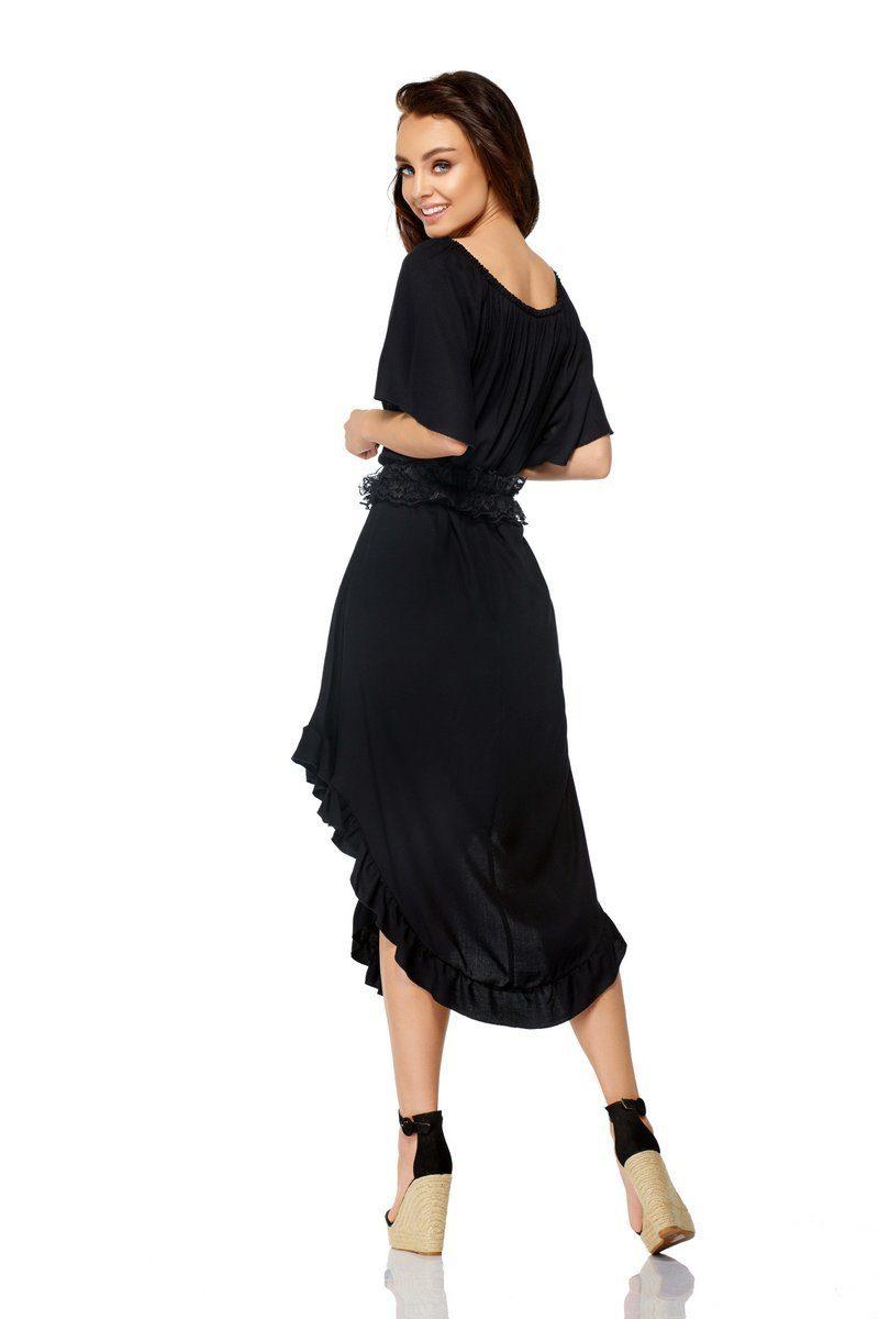 Mit Lemoniade Modisches Kleid Rüschen Kaufen shQrdtC