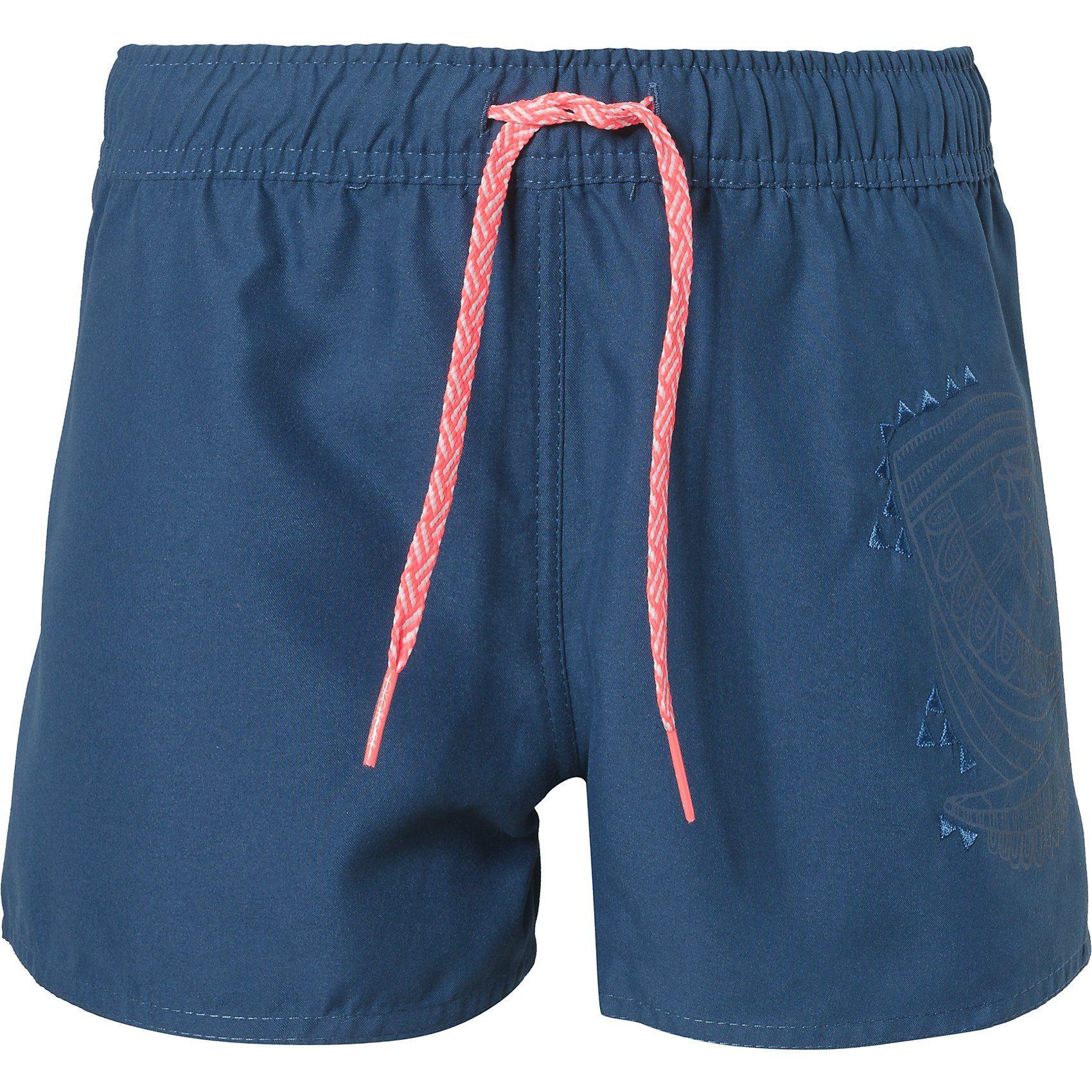 Damen,  Mädchen,  Kinder Protest Shorts FOUKE für Mädchen blau | 08718025834518