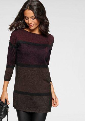 Laura Scott Ilgas megztinis su neįkyrus Glanzeffek...